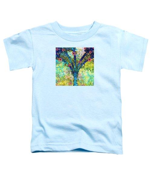 Inspirational Art - Absolute Joy - Sharon Cummings Toddler T-Shirt