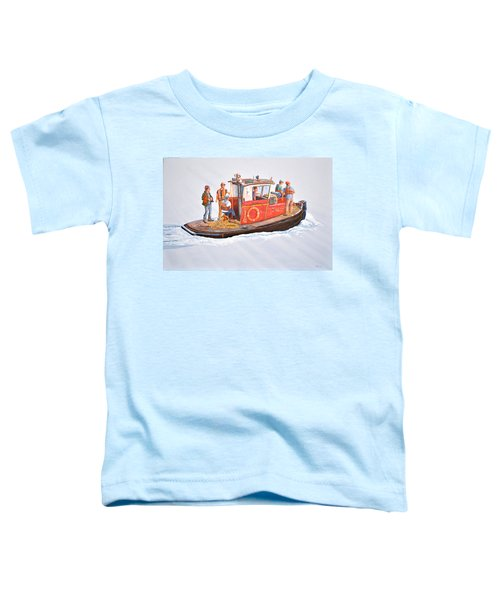 Into The Mist-the Crew Boat Toddler T-Shirt