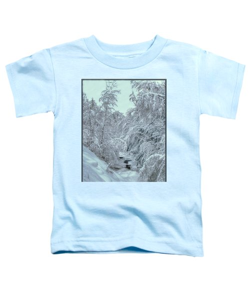 Into White Toddler T-Shirt