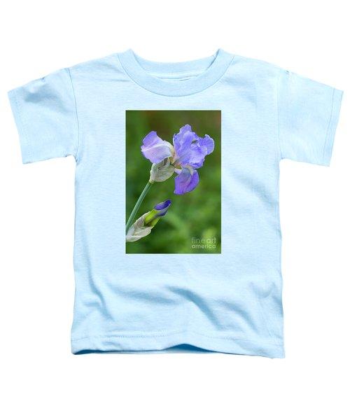 Iris Blue Toddler T-Shirt