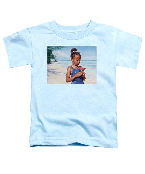 Island Flowers Toddler T-Shirt
