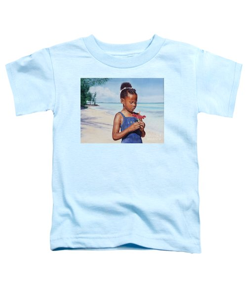 Island Flowers Toddler T-Shirt