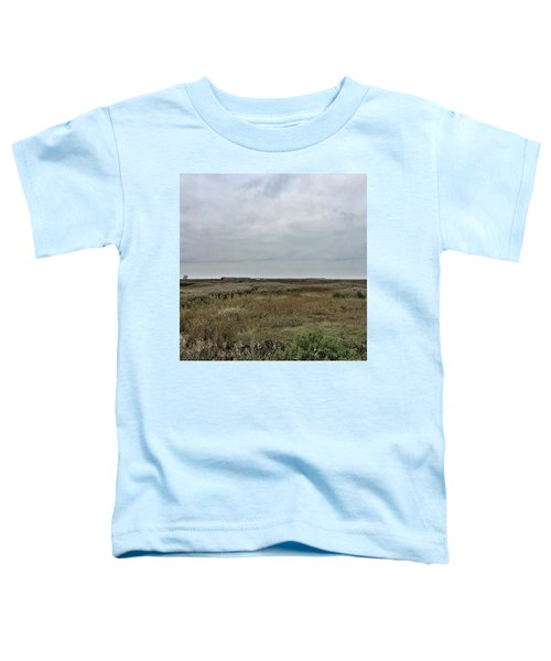 It's A Grey Day In North Norfolk Today Toddler T-Shirt