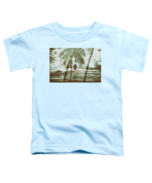 Izzy Jive And Palms Toddler T-Shirt