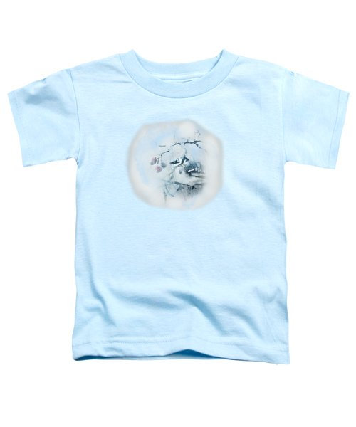 January Bluejay  Toddler T-Shirt by Susan Capuano