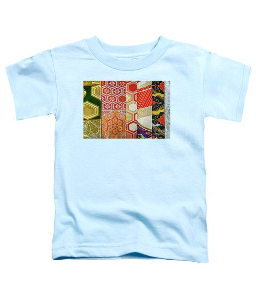 Japanese Patchwork Toddler T-Shirt