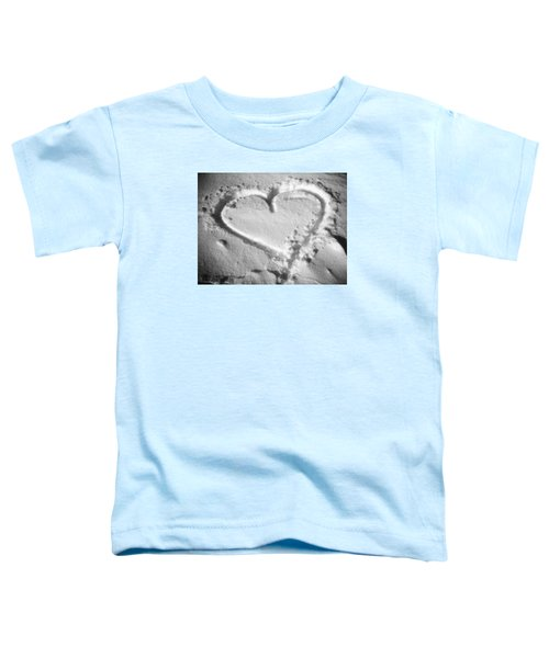 Winter Heart Toddler T-Shirt