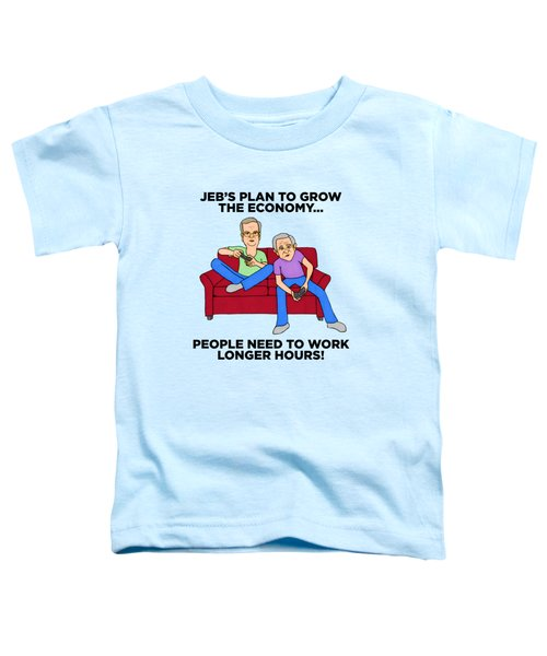 Jeb Bush Toddler T-Shirt by Sean Corcoran