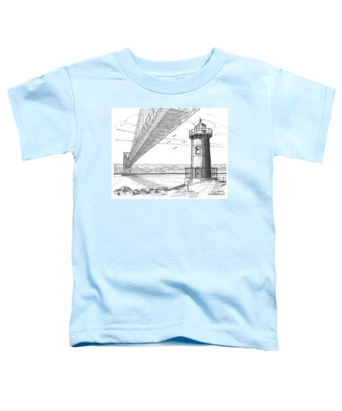 Jeffrey's Hook Lighthouse Toddler T-Shirt