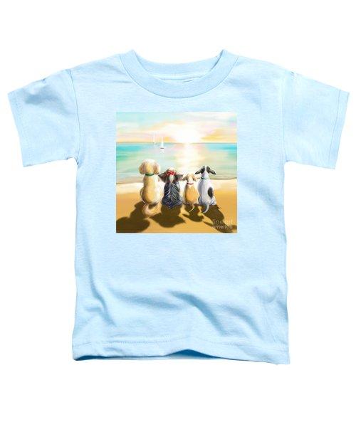 Jersey Shore Sunrise  Toddler T-Shirt