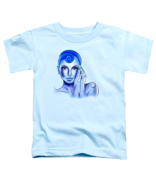 Jewellisina V1 - Blue Treasure Toddler T-Shirt