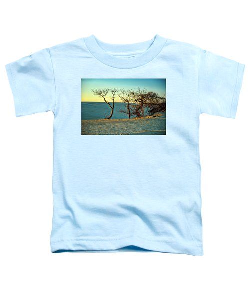 Toddler T-Shirt featuring the photograph Jockey Ridge Sentinels by Donald Brown