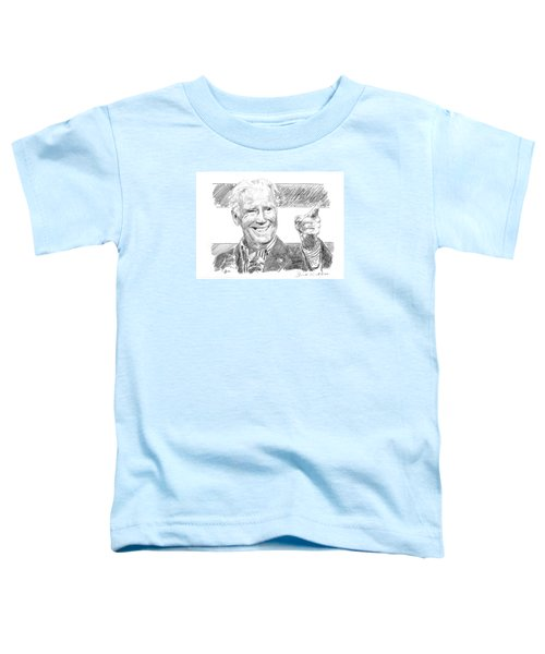 Joe Biden Toddler T-Shirt by Shawn Vincelette