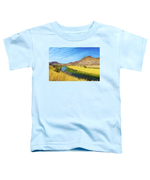 John Day River Panoramic View Toddler T-Shirt