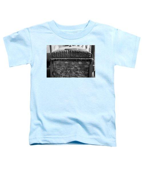 John Deere In Monochrome Toddler T-Shirt
