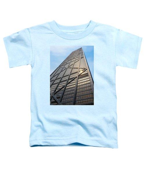 John Hancock Center Chicago Toddler T-Shirt by Steve Gadomski