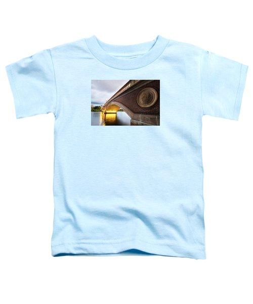 John Weeks Bridge Charles River Harvard Square Cambridge Ma Toddler T-Shirt