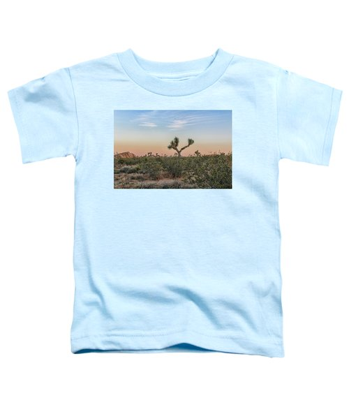 Toddler T-Shirt featuring the photograph Joshua Tree Evening by Alison Frank