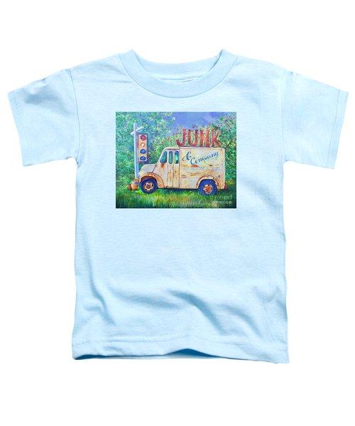 Junk Truck Toddler T-Shirt