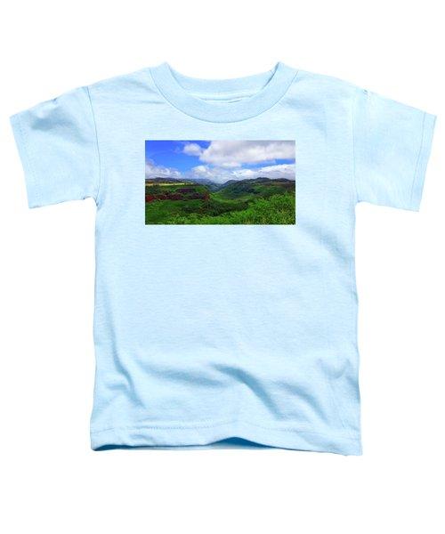 Kauai Mountains Toddler T-Shirt