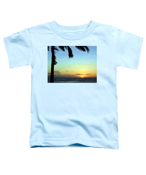 Kauai Sunset Toddler T-Shirt