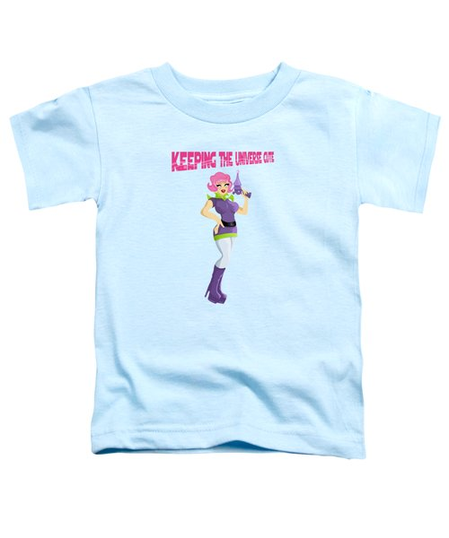 Keeping The Universe Cute One Planet At A Time Toddler T-Shirt
