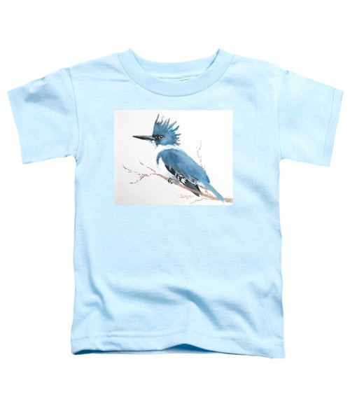 Kingfisher On A Branch Toddler T-Shirt