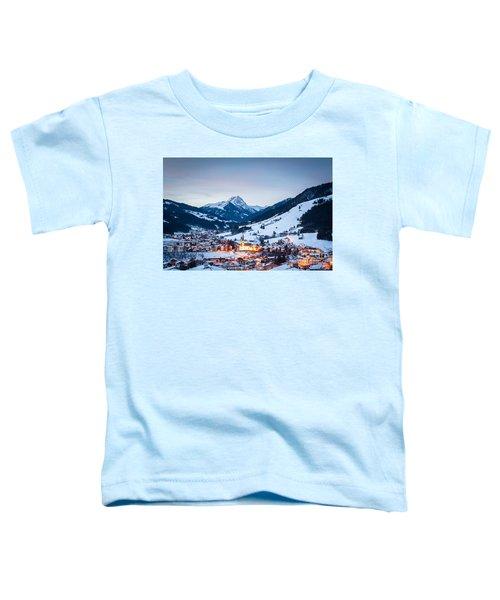 Kirchberg Austria In The Evening Toddler T-Shirt