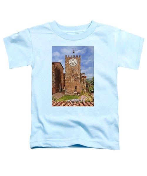La Torre Del Carmine-montecatini Terme-tuscany Toddler T-Shirt