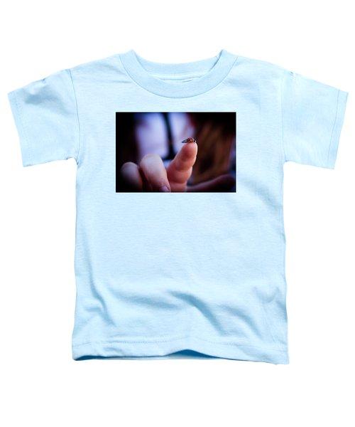 Ladybug On  Finger  Toddler T-Shirt