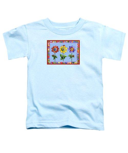 Ladybug Trio Toddler T-Shirt