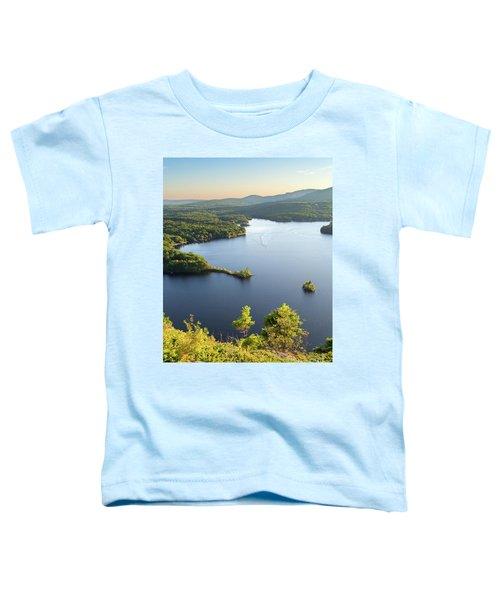 Lake Megunticook, Camden, Maine  -43960-43962 Toddler T-Shirt