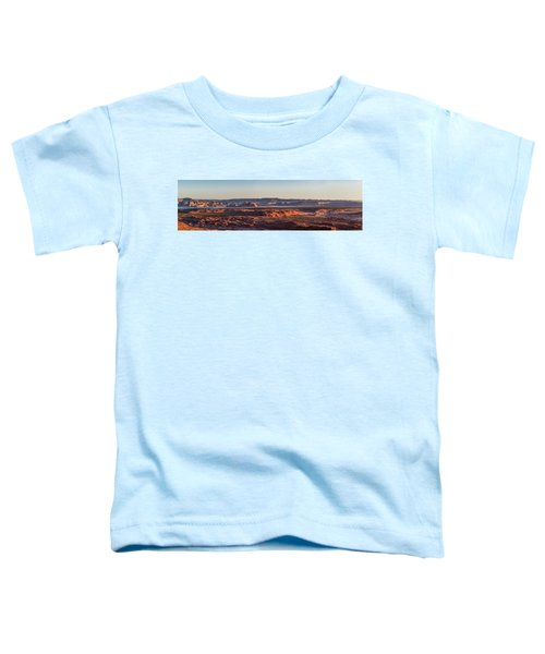 Lake Powell Sunrise Panorma Toddler T-Shirt