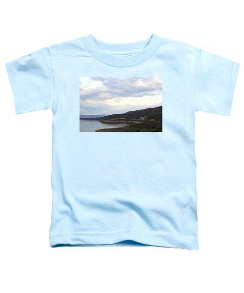 Lake Roosevelt Bridge 1 Toddler T-Shirt