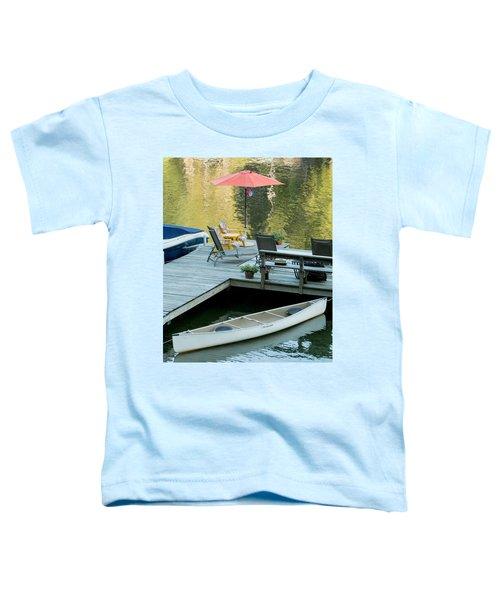 Lake-side Dock Toddler T-Shirt