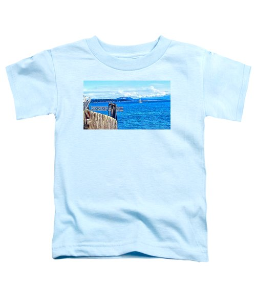 Land And Sea Toddler T-Shirt
