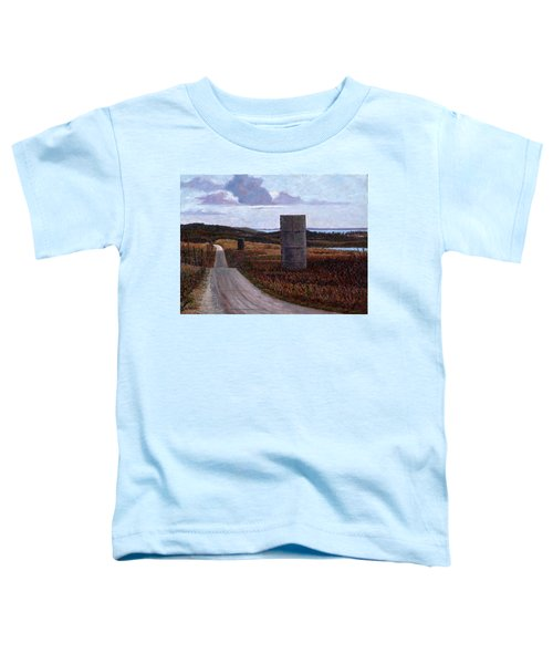 Landscape With Silos Toddler T-Shirt