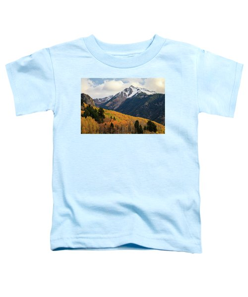 Toddler T-Shirt featuring the photograph Last Light Of Autumn by David Chandler