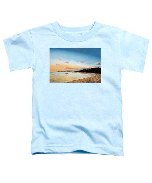 Late Sunset Along The Beach Toddler T-Shirt