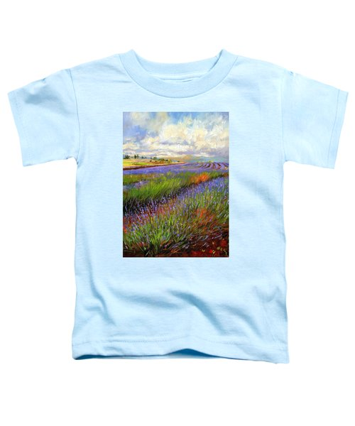 Lavender Field Toddler T-Shirt