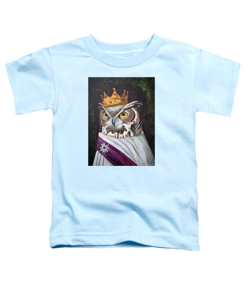 Le Royal Owl Toddler T-Shirt