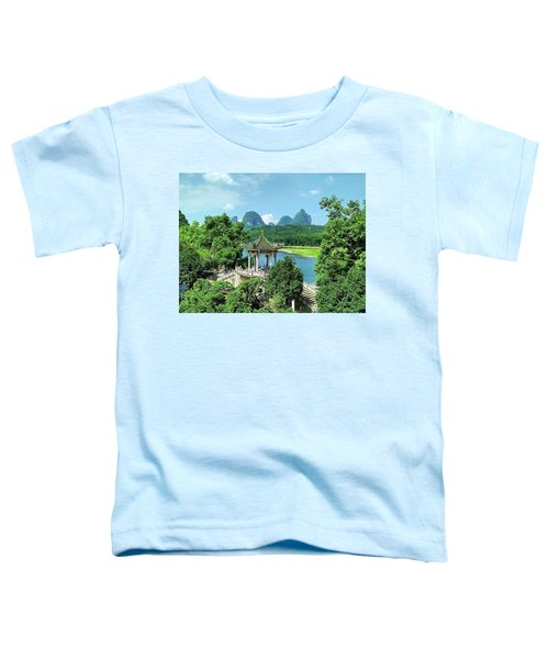 A View In Yangshuo Toddler T-Shirt