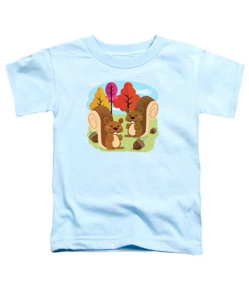 Let The Acorns Fall Toddler T-Shirt