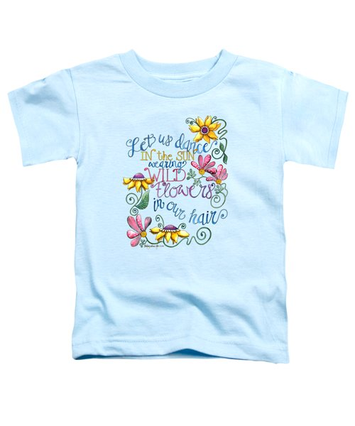 Let Us Dance Toddler T-Shirt