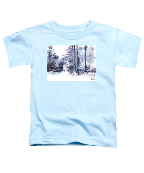 Let's Go For A Walk 2 Toddler T-Shirt
