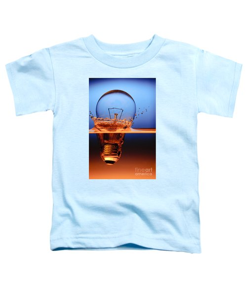 Light Bulb And Splash Water Toddler T-Shirt