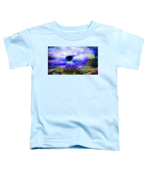 Lighthouse Angel Purple In Hotty Totty Style Toddler T-Shirt
