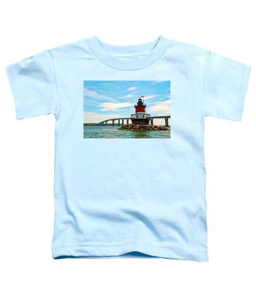 Lighthouse On A Small Island Toddler T-Shirt