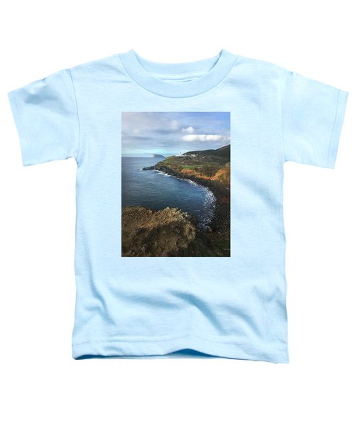 Lighthouse On Terceira Toddler T-Shirt