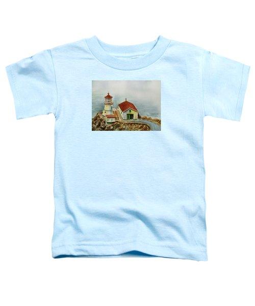 Lighthouse Point Reyes California Toddler T-Shirt